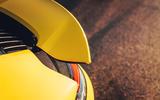 2019 Porsche 911 Carrera S track drive - spoiler
