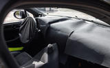 91 Porsche Macan GTS 2021 prototype drive dashboard