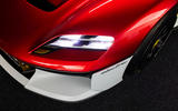 91 Porsche Mission R concept feature headlights