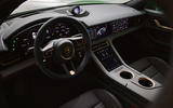 91 Porsche Taycan Cross Turismo official images cabin