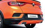 2021 Renault Arkana official European images - rear end