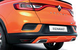 2021 Renault Arkana official European images - rear end
