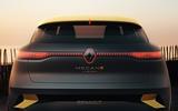 Renault Megane eVision concept official images - rear lights