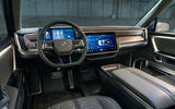 Rivian R1T electric pick-up reveal - dashboard