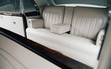 Rolls Royce by Lunaz official images - rear seats