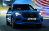 91 Skoda Kodiaq VRS 2021 official images tracking front
