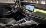 Skoda Vision RS concept drive - dashboard