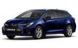 Suzuki Swace official press images - Blue colour