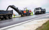 New Tarmac at Silverstone for 2019 - heavy machinery