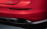 Volkswagen Golf Estate Mk8 studio - exhaust