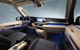 91 Volkswagen Multivan T7 2021 official images cabin