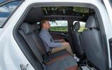 2021 Volkswagen ID 4 prototype drive - rear seats