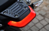 Off throttle braking levels can be set by app on the Zero Motorcycles SR/S