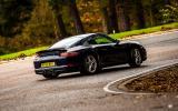 Porsche 911 Carrera rear drifting