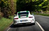 Porsche 911 R rear end