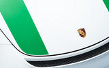 Porsche enamel badge