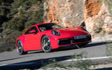 Porsche 911 Carrera 4S 2019 review - front right
