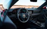 Porsche 911 Carrera 4S 2019 review - cabin