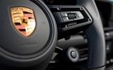 Porsche 911 Carrera 4S 2019 review - steering wheel