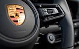 Porsche 911 Carrera 4S 2019 review - steering wheel