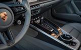 Porsche 911 Carrera 4S 2019 review - centre console