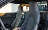 Porsche 911 Carrera 4S 2019 review - seats