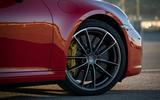 Porsche 911 Carrera 4S 2019 review - alloy wheels
