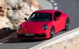Porsche 911 Carrera 4S 2019 review - mountains