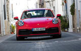 Porsche 911 Carrera 4S 2019 review - nose