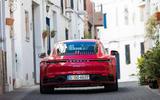 Porsche 911 Carrera 4S 2019 review - rear