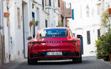 Porsche 911 Carrera 4S 2019 review - rear