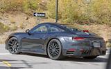 Porsche 911 interior sighting shows new digital cluster of 2019 car