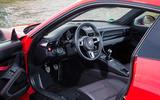 Porsche 911 Carrera T interior