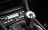 Porsche 911 Carrera T manual gearbox