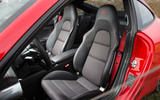Porsche 911 Carrera T sports seats
