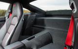 Porsche 911 Carrera T boot space