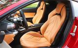 Ferrari 812 Superfast front seats