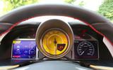Ferrari 812 Superfast instrument cluster