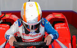 92 Alex Lynn Mahindra Formula E 2021 cockpit