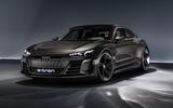 Auto E-tron GT concept official press reveal - static front left