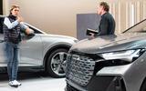 92 Audi Q4 etron 2021 official reveal interview