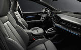 92 Audi Q4 Etron 2021 prototype drive cabin
