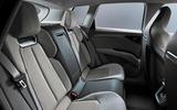 Audi Q4 E-tron electric SUV Geneva 2019 official press images - rear seats