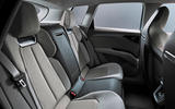 Audi Q4 E-tron electric SUV Geneva 2019 official press images - rear seats
