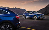 Audi Q5 Sportback 2020 official images - two cars