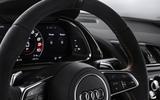 Audi R8 V10 Decennium official press images - steering wheel