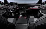 Audi RS Q8 2020 official reveal photos - cabin
