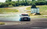 92 Audi RS3 2021 prototype ride drift front