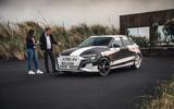 Audi S3 2020 prototype drive - Rachel Burgess interview a