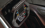 BAC Mono R carbonfibre feature - steering wheel